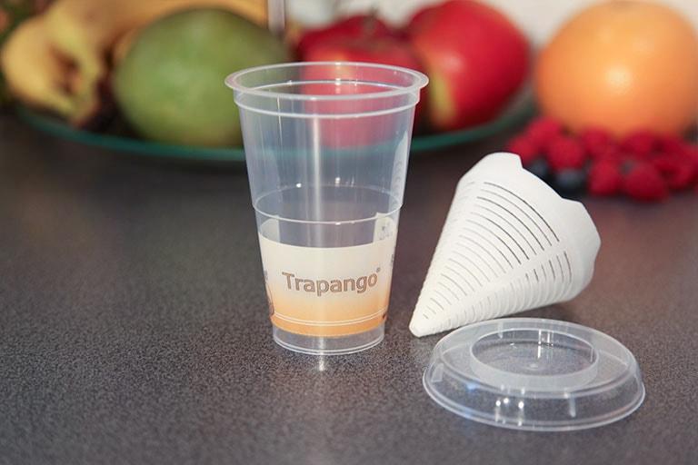 Trapango Becher Bestandteile